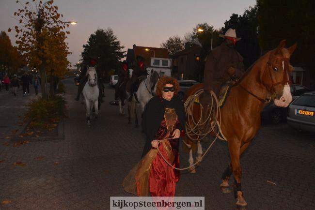 Halloween op de Welberg